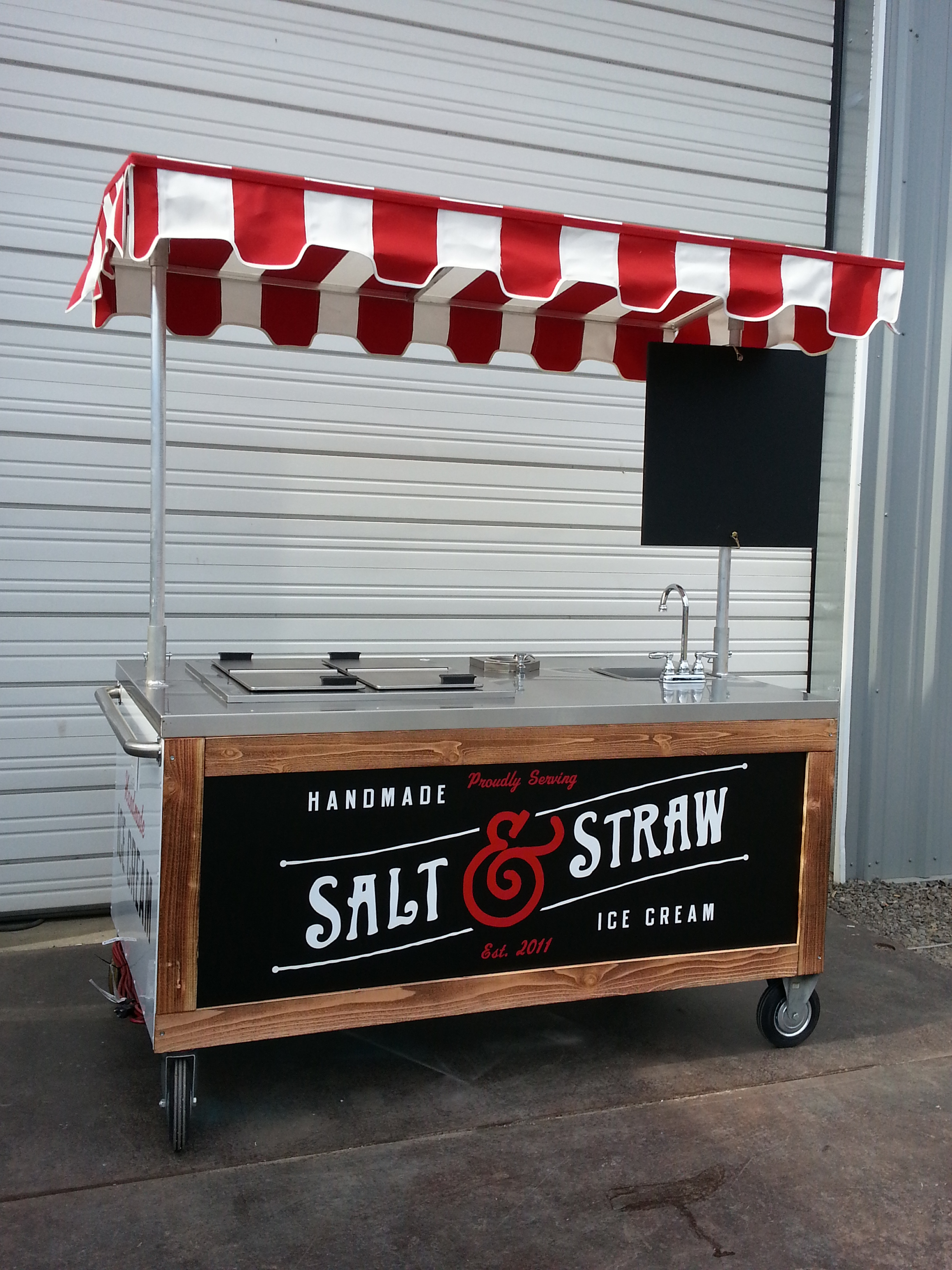 Custom Ice Cream Cart