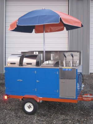 Deep Fryer Cart