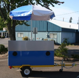 Custom Boomin Hot Dog Cart