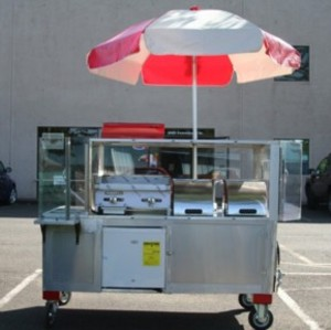 Ultimate Taco Cart in Stainless